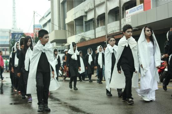 Hantu di Jalan Gajahmada (Peserta dari SMP N 1 Teluk Pakedai)