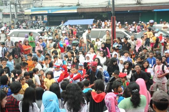 Gangnam Style di Jl. Gajahmada Pontianak