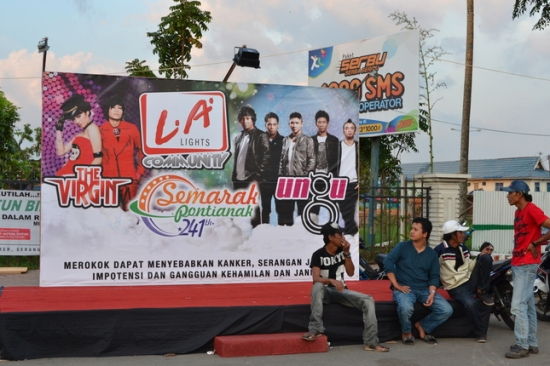 Poster Konser The Virgin & Ungu